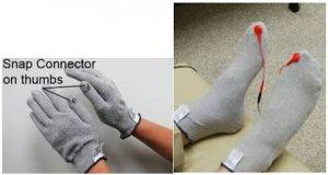 guantes y medias conductoras rebuilder